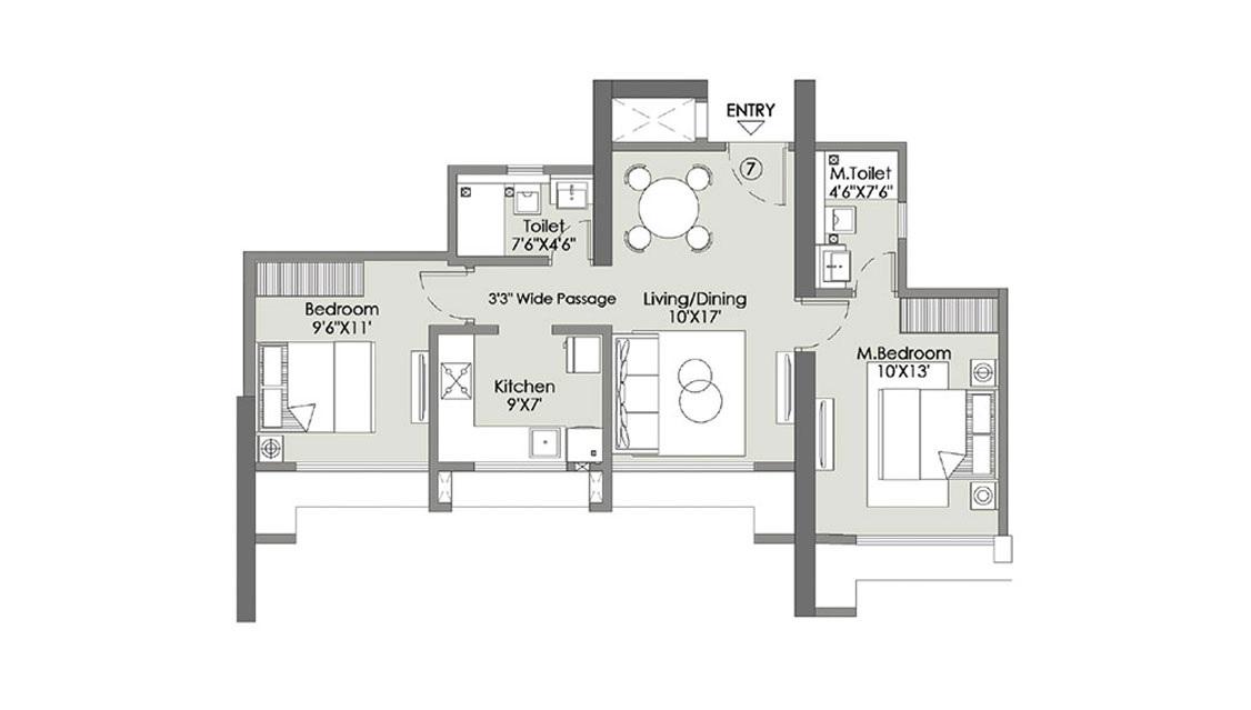 l t rejuve 360 tower a apartment 2bhk 612sqft01