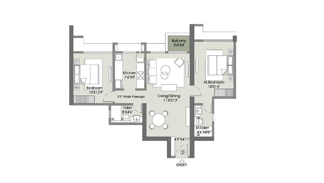 l t rejuve 360 tower a apartment 2bhk 759sqft11