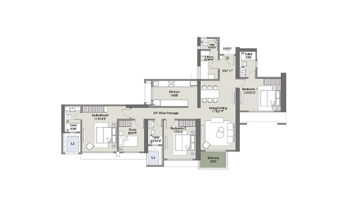 l t rejuve 360 tower a apartment 3bhk st 1272sqft51