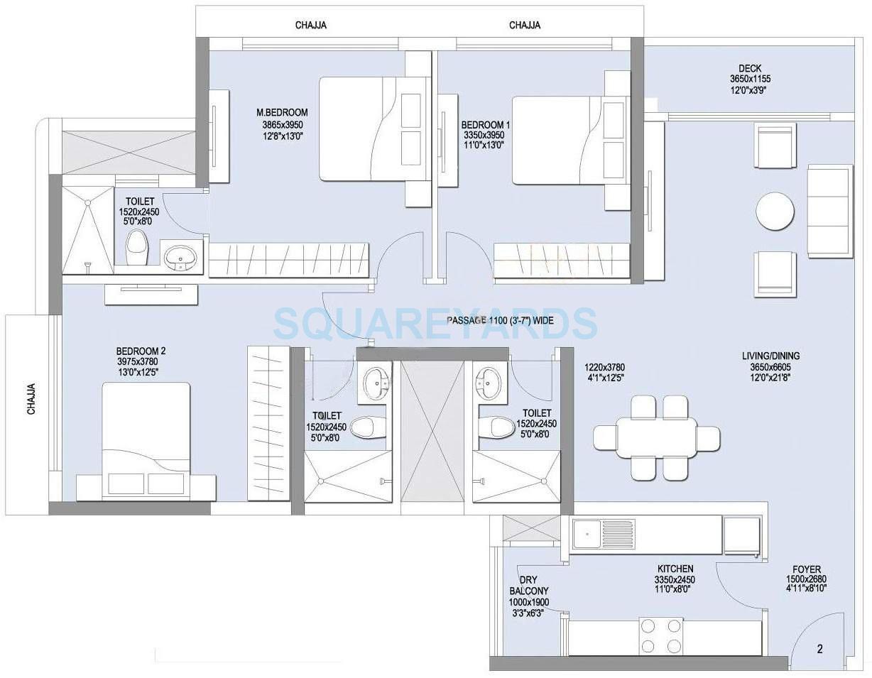 lnt realty emerald isle apartment 3bhk 2175sqft1