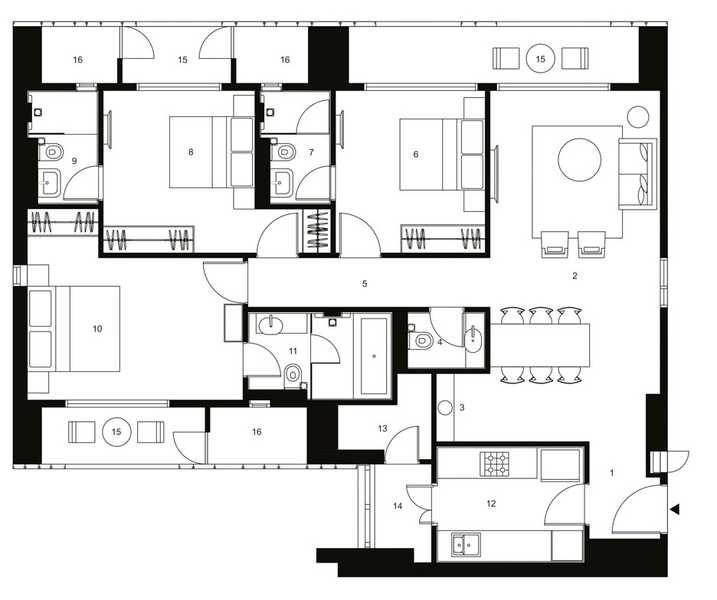 lodha altia apartment 3bhk 2043sqft 51