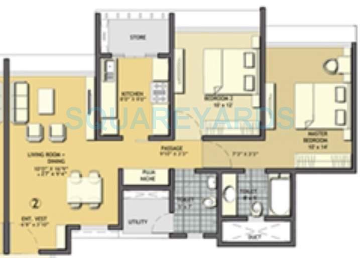 lodha aqua apartment 2bhk 1017sqft1