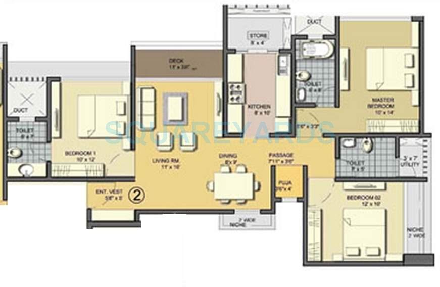 lodha aqua apartment 3bhk 1449sqft1