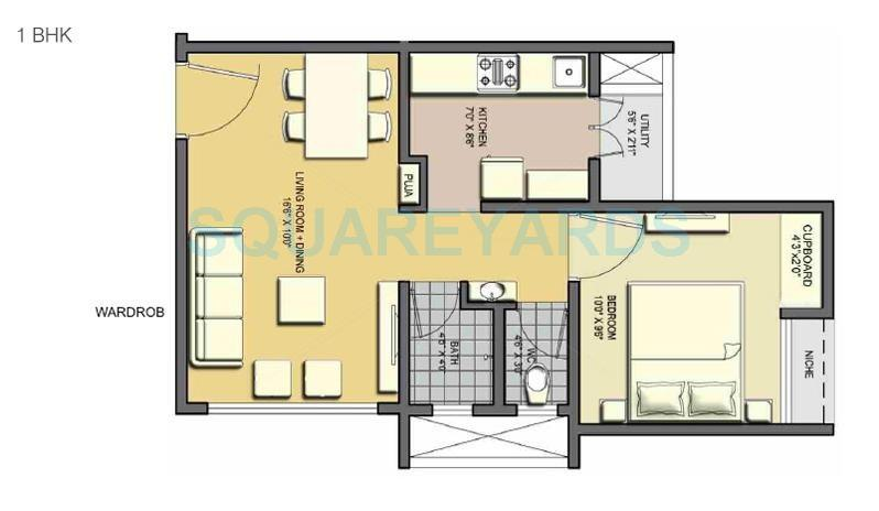 lodha casa essenza apartment 1bhk 585sqft 1