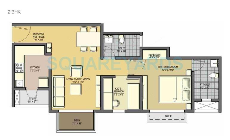 lodha casa essenza apartment 2bhk 792sqft 1