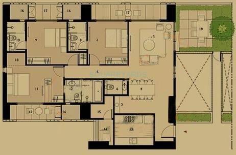 lodha dioro apartment 3bhk 2016sqft1