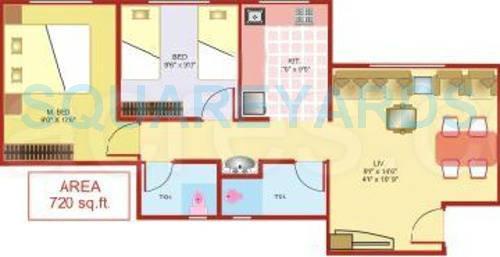 lodha heaven apartment 2bhk 720sqft1