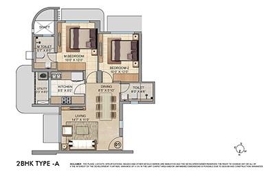 lodha patel estate tower a and b apartment 2bhk 670sqft01