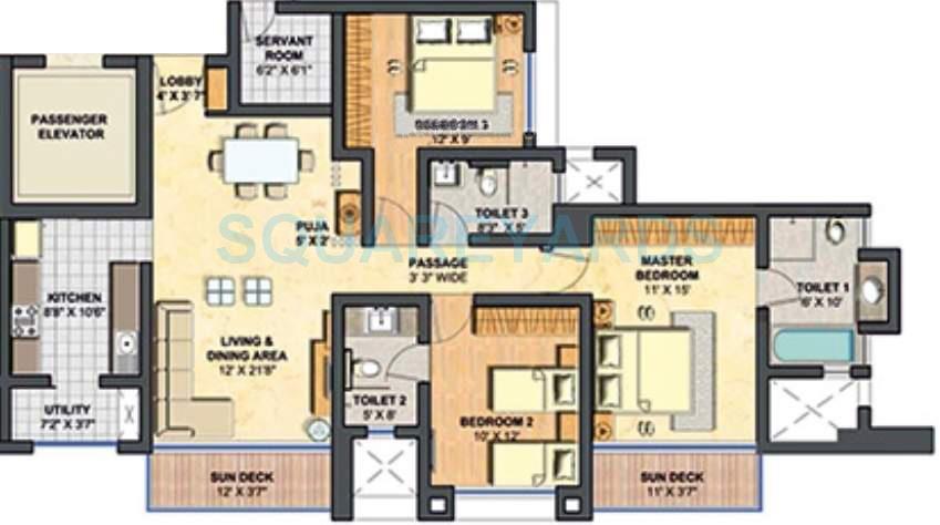 lodha primero apartment 3bhk 1791sqft1