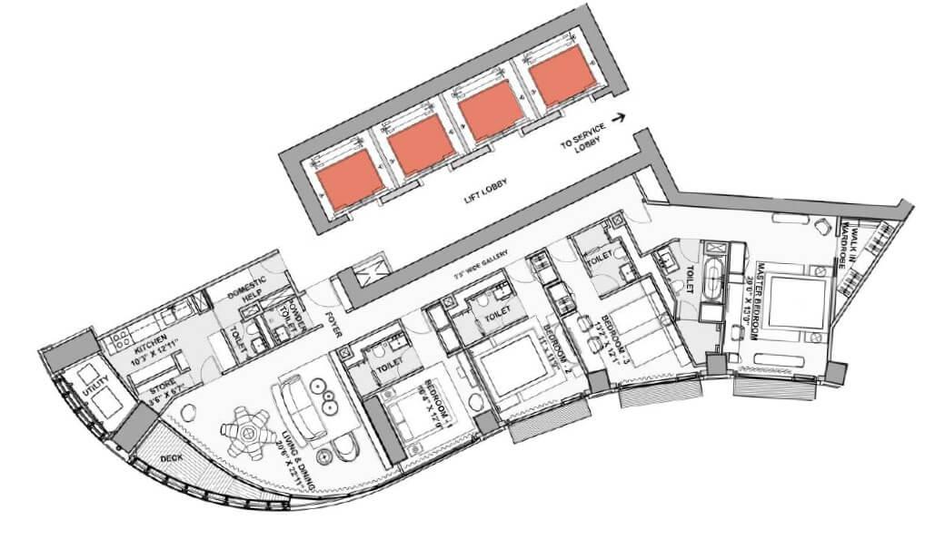 lodha world view apartment 4bhk 2056sqft 1