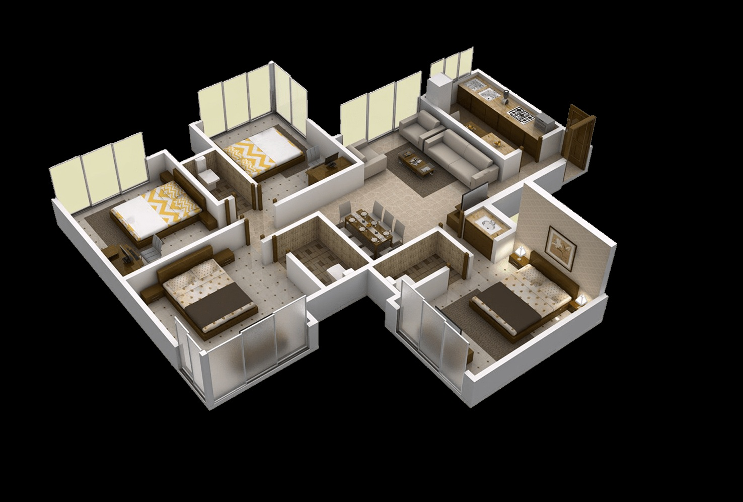 matoshree nisarg apartment 4bhk 1200sqft41