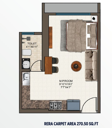 mayfair codename sara powai studio 270sqft21