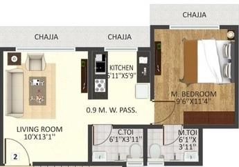 md madhuban chs apartment 1 bhk 520sqft 20212407132452