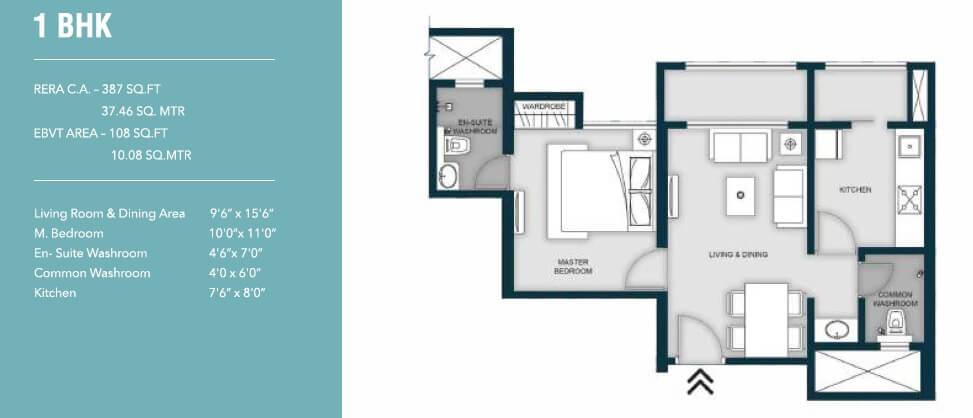 micl monteverde apartment 1bhk 495sqft 1