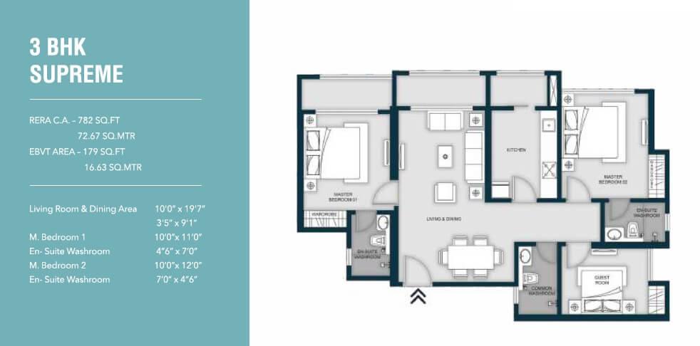 micl monteverde apartment 3bhk 961sqft 1