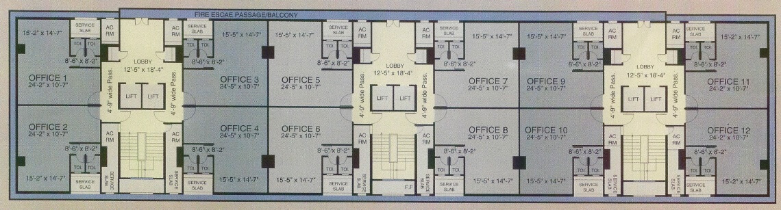 mittal commercia office space 1071sqft 1