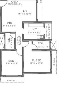 nahalchand nl himalaya apartment 2bhk 1100sqft31
