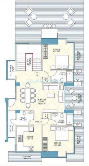 neumec crescent aria apartment 2bhk 1700sqft1