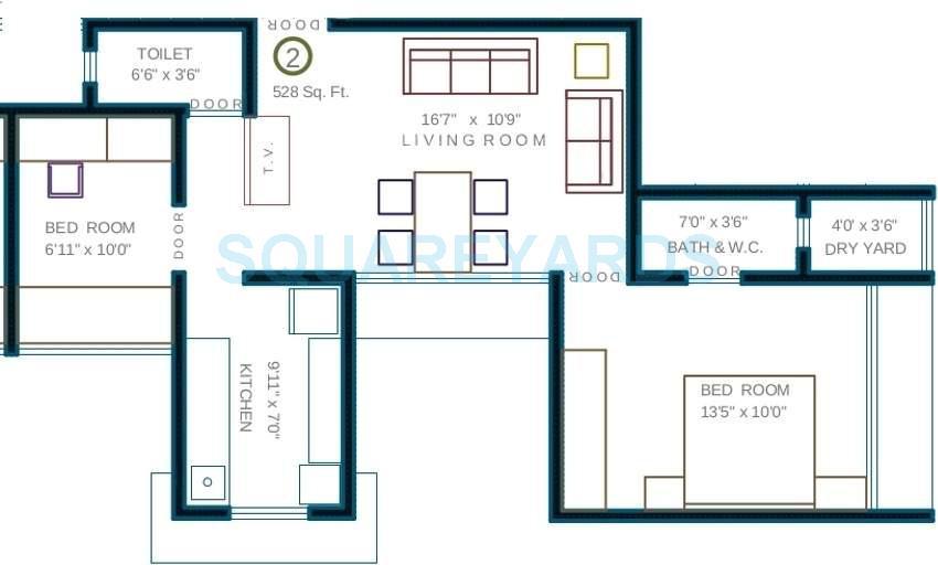 neumec morphosis insula apartment 1bhk 845sqft1