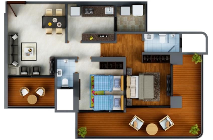 neumec shreeji towers apartment 2 bhk 561sqft 20210021160058