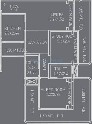 neumec terraces apartment 2bhk 1650sqft1