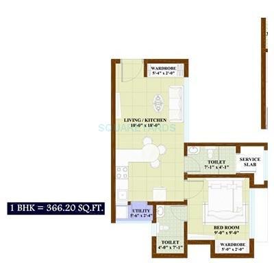 nirmal thames apartment 1bhk 468sqft1
