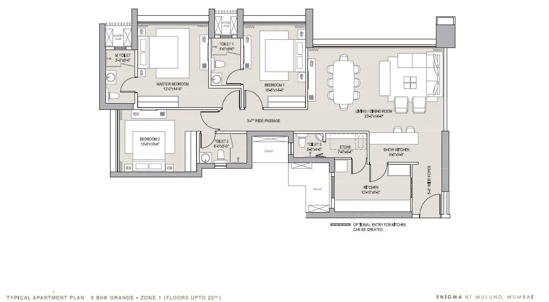 oberoi eternia apartment 3 bhk 912sqft 20203517153548