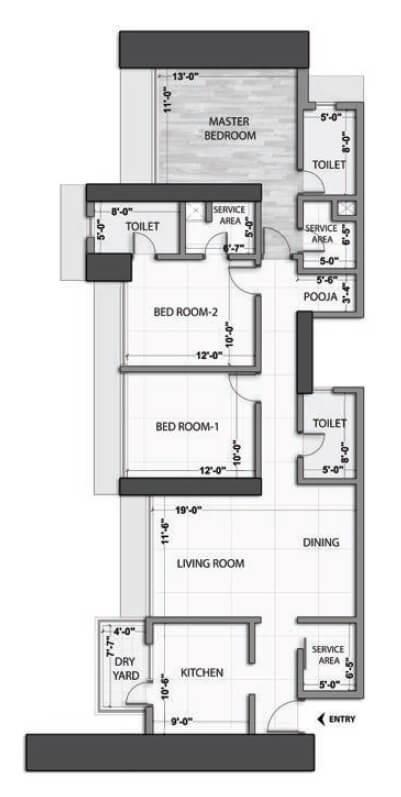 omkar alta monte apartment 3bhk 1272sqft 1