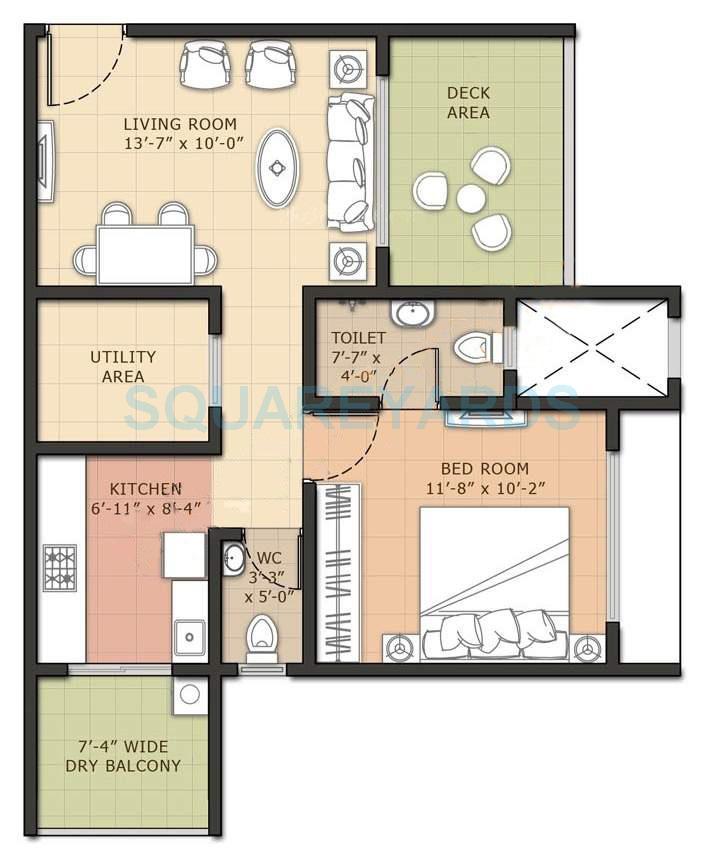 omkar raga apartment 1bhk 772sqft1