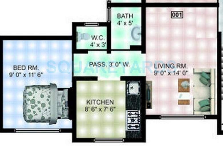 panvelkar realtors heights apartment 1bhk 719sqft1