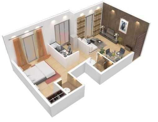 paradigm ariana residency apartment 1bhk 398sqft21