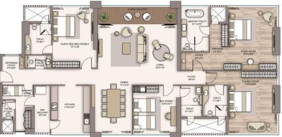 piramal aranya avyan apartment 3bhk 2076sqft51