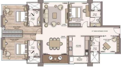 piramal aranya avyan apartment 3bhk st 2076sqft 1