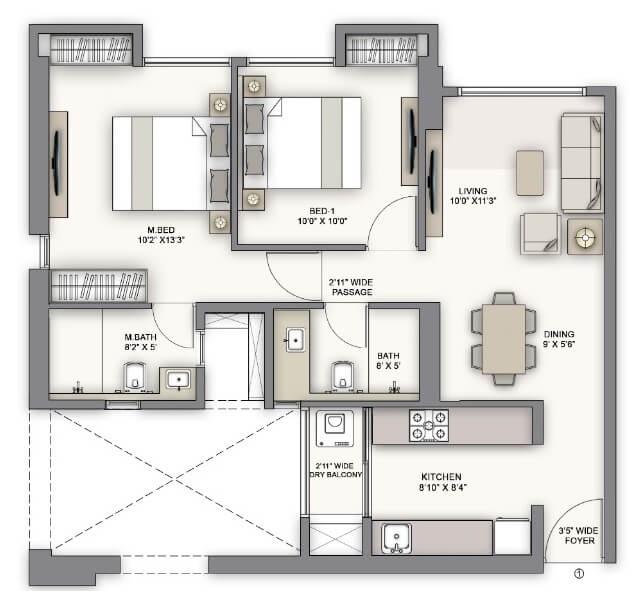 piramal vaikunth vairat apartment 2bhk 700sqft41