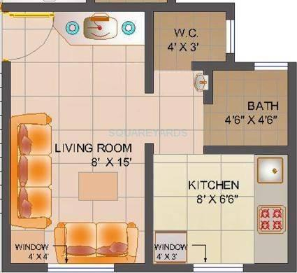 poddar housing samruddhi complex apartment 1bhk 420sqft1