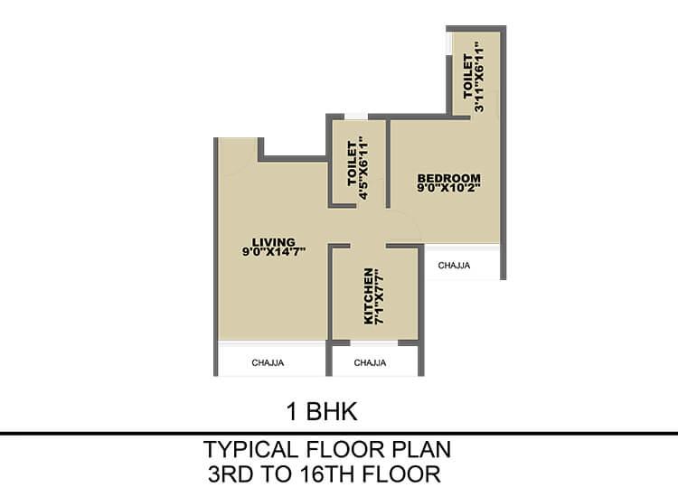 prajapati opal apartment 1bhk 432sqft 1