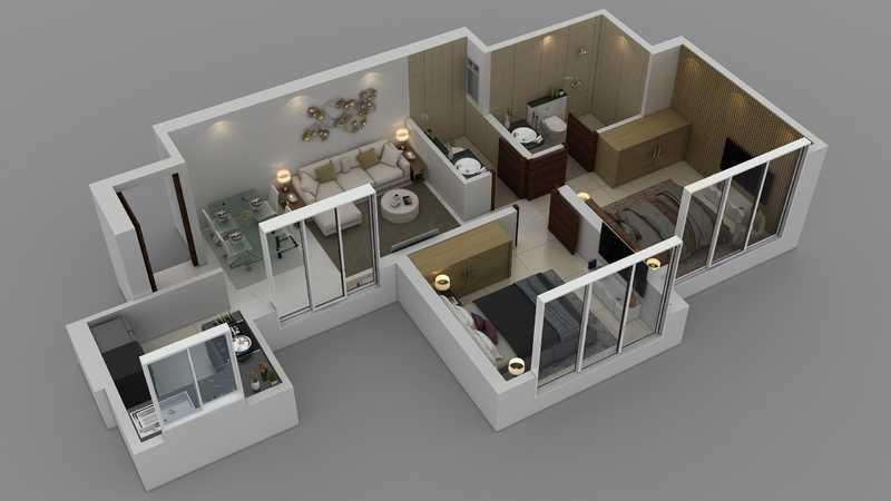purva clermont apartment 2 bhk 536sqft 20214401004423