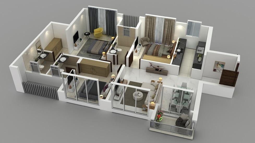 purva clermont apartment 3 bhk 1599sqft 20214401004433