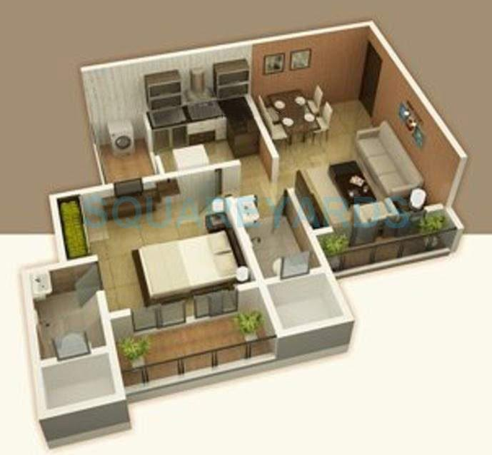 raj corp rameshwaram apartment apartment 1bhk 650sqft1