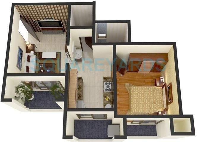 ravi group gaurav discovery apartment 1bhk 680sqft1