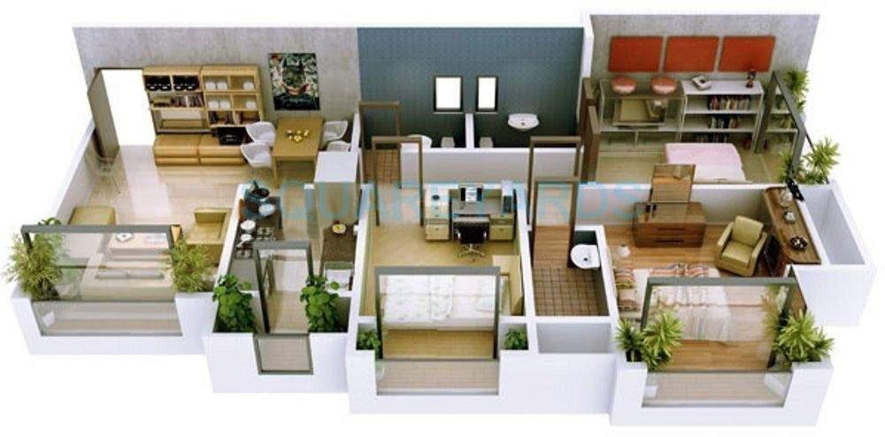 ravi group gaurav excellency apartment 2bhk 1050sqft1