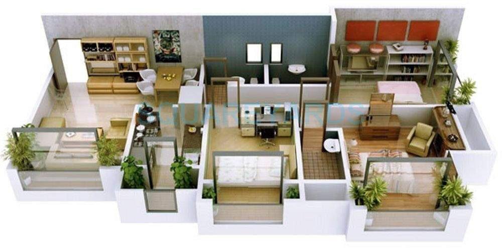 ravi group gaurav excellency apartment 2bhk 1070sqft1