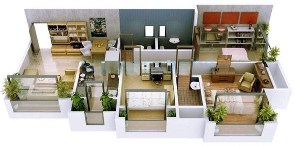 ravi group gaurav excellency apartment 2bhk 1350sqft1