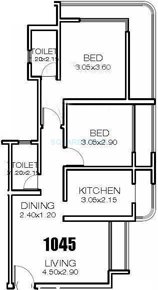 ravi group gaurav iconic apartment 2bhk 1335sqft1