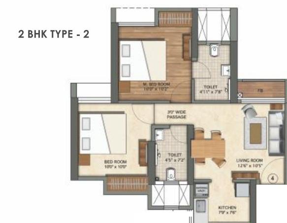 runwal eirene part 1 apartment 2bhk 568sqft21
