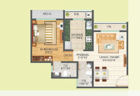 runwal oyt apartment 1 bhk 422sqft 20215929055911