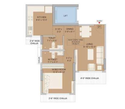 ruparel orion apartment 1 bhk 476sqft 20200810130816