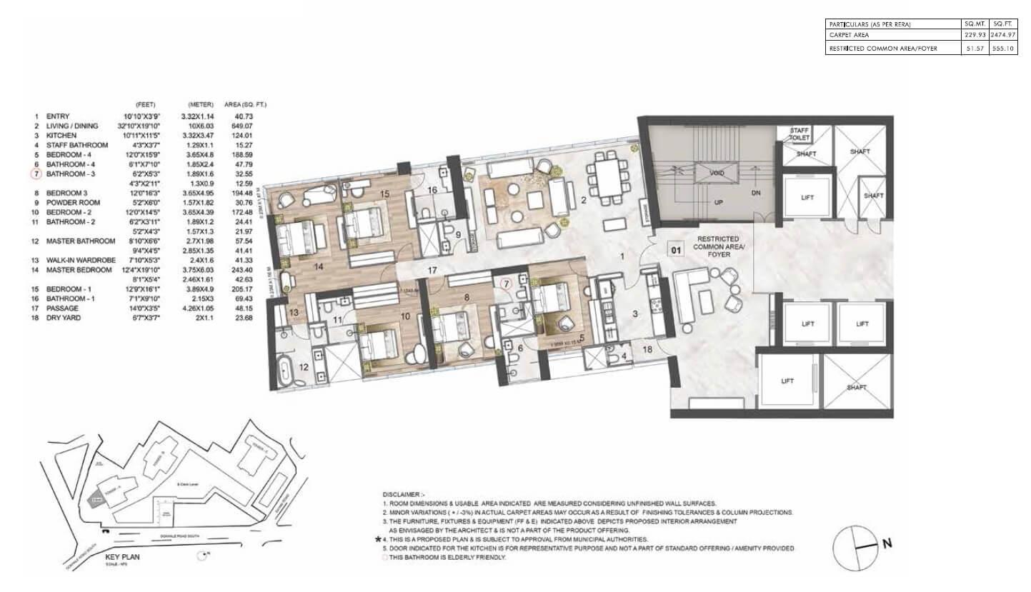 rustomjee crown apartment 5bhk 2474sqft 1