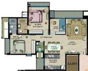 rustomjee elanza apartment 2bhk 1100sqft1