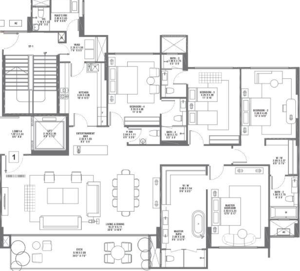 rustomjee elements apartment 4 bhk 2350sqft 20215805145808